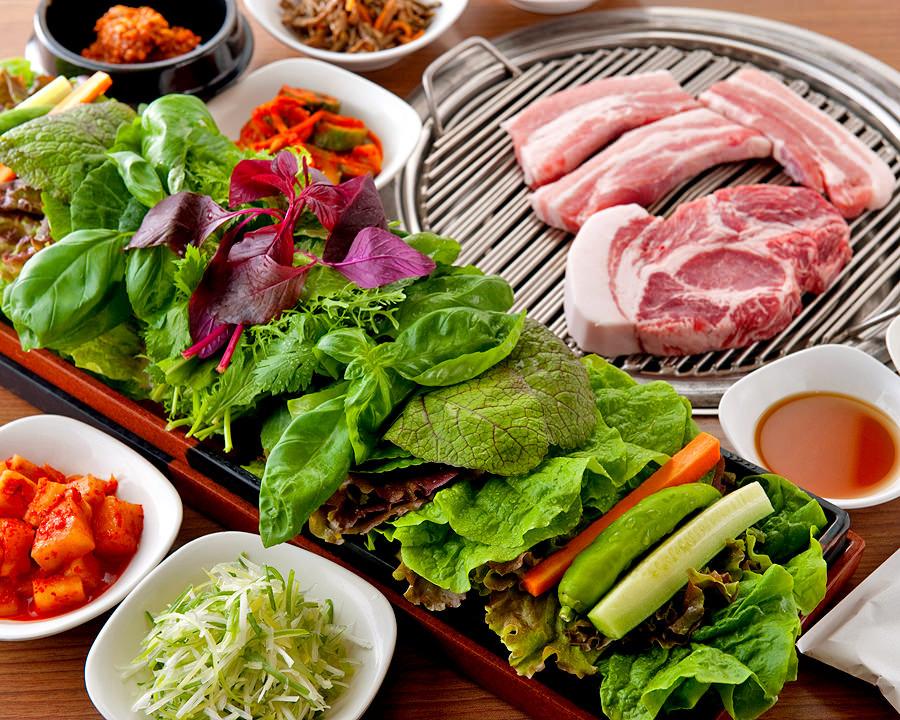 赤坂の韓国料理を中心としたサンパ専門店
