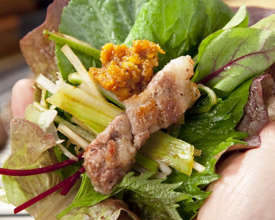 赤坂で新年会するならサムギョプサル食べ放題コースがある「やさい村大地 赤坂本店」へ