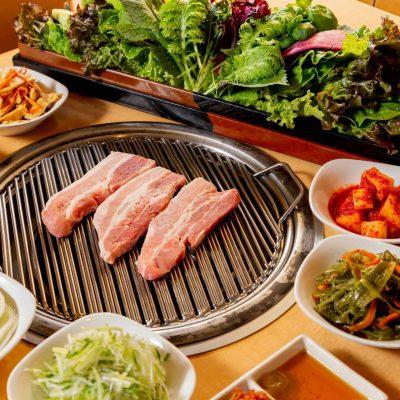 赤坂でサンパが愉しめる韓国料理店【やさい村大地】