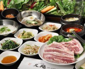 赤坂にある食べ放題が充実した韓国料理店【やさい村大地 赤坂本店】